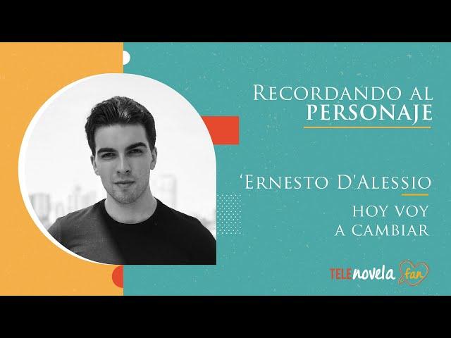 Entrevista a José Riveroll sobre su personaje en