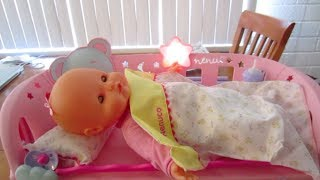 Nenuco Sleep With Me Baby Doll & Cradle co-sleeping - Кукла NENUCO CUNA DUERME CONMIGO