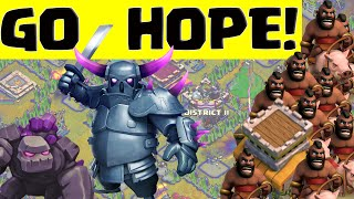 Clash of Clans Town Hall 8 THREE STAR Strategy ♦ GOHOPE! ♦ CoC ♦