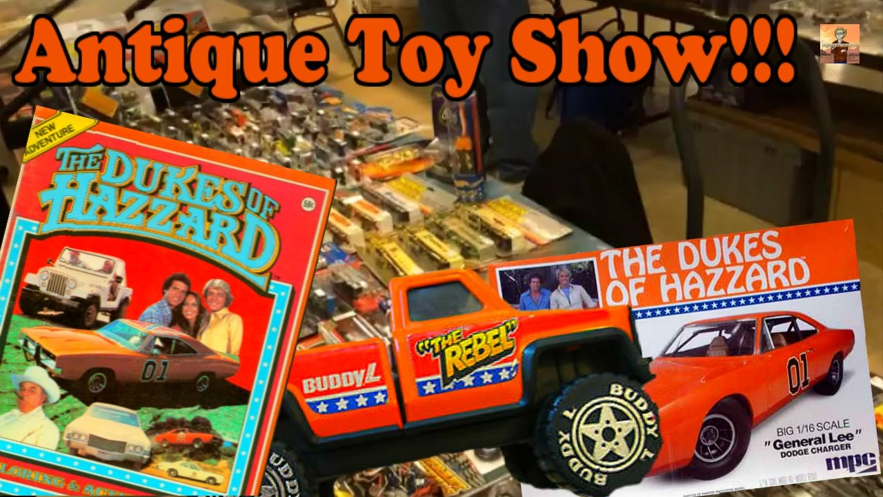 Dukes Of Hazzard Antiques At Local Toy Show Cm40 Vlog Youtube