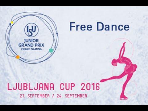 2016 ISU Junior Grand Prix - Ljubljana - Free Dance