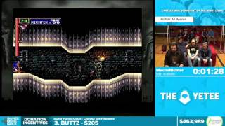 Symphony of the Night by MechaRichter in 25:39 - Awesome Games Done Quick 2016 - Part 109