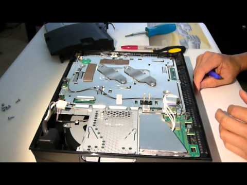 playstation 3 fat 40 gb disassembly to access thermal grease only rh youtube com