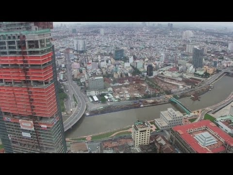 Ho Chi Minh City View from Bitexco Financial Tower Sky Deck (??????????????????????????)