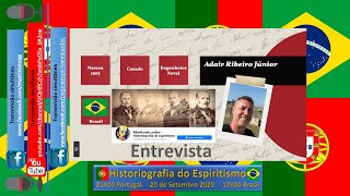 Historiografia do Espiritismo - Entrevista com Adair Ribeiro