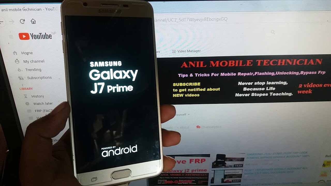 How to unlock samsung galaxy j7 with google account | How To Bypass
