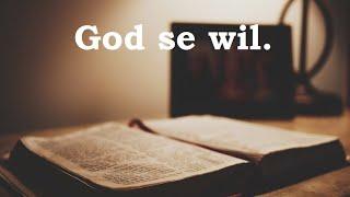 God se wil