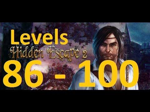 Hidden Escape 2 - 100 Дверей Приключения -Level 86 - 100  - 86 - 100 уровень  прохождение