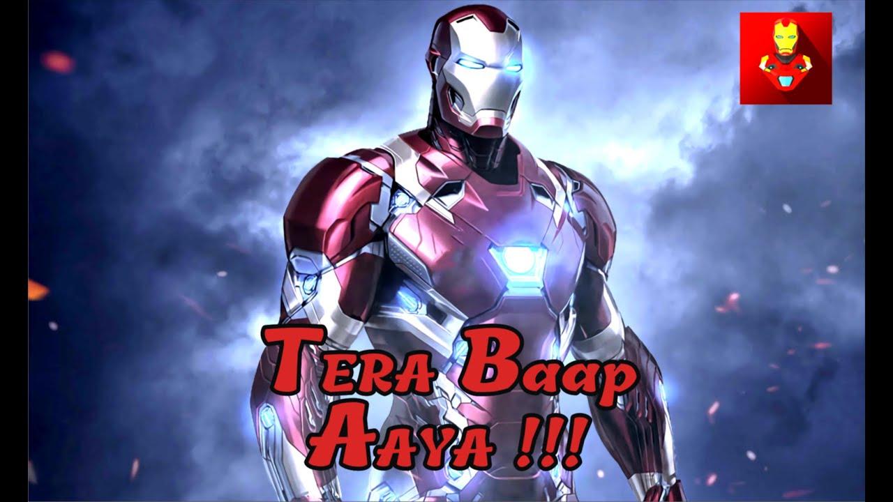 Download    TERA BAAP AYA !!!   IRON MAN !!    TONY STARK!!    OFFICIAL SONG    ARTIST'S STUDIO  