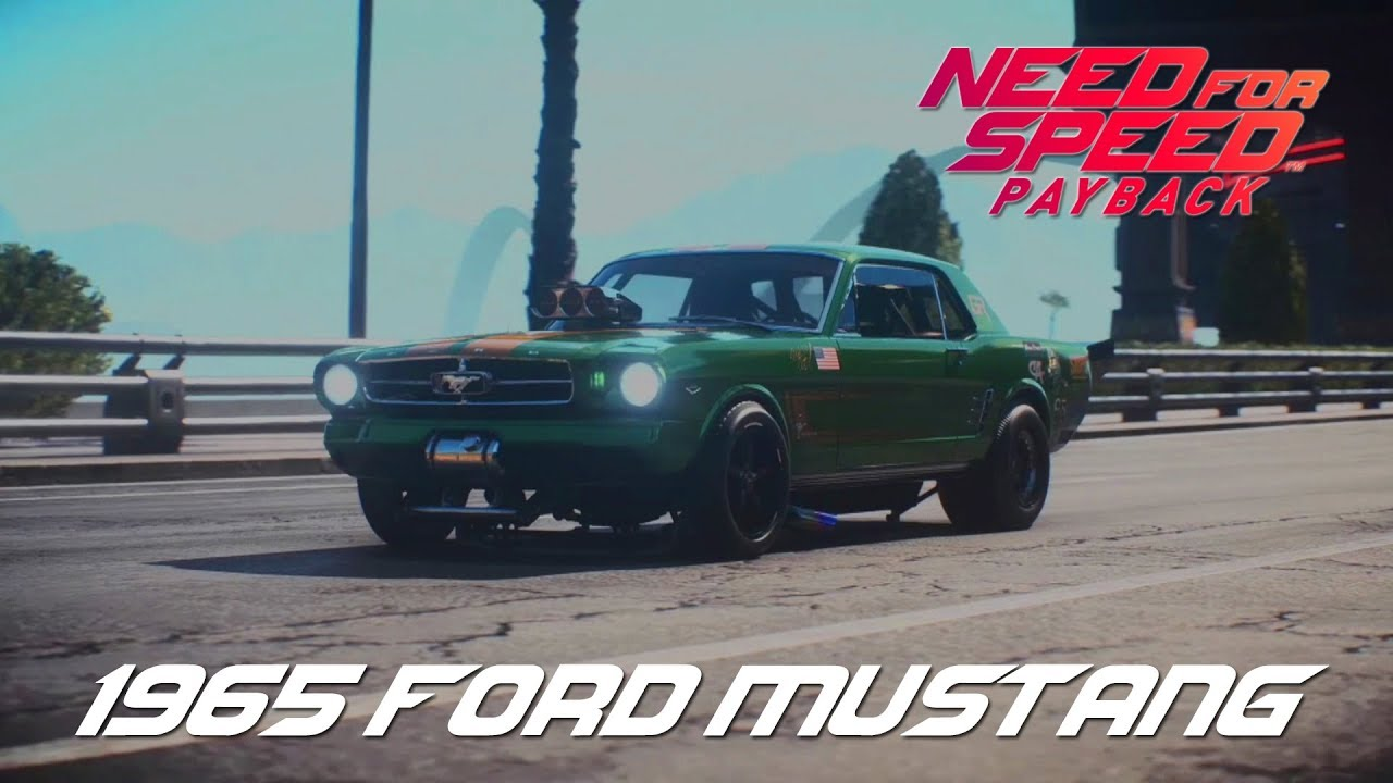 Need for speed payback ford mustang 1965 all derelict parts