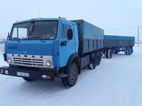 """Рейс за зерном. """"КамАЗ 5320""""."""