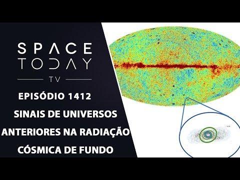 Sinais de Universos Anteriores na Radiação Cósmica de Fundo - Space Today TV Ep.1412
