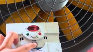 Sterowanie obrotami mieszacza powietrza za pomocą falownika (www.wentylatorysklep.pl)