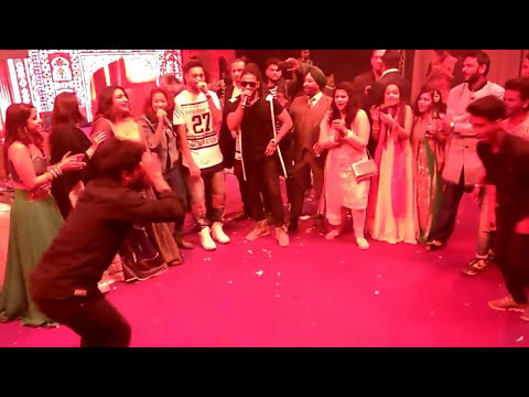 Raftaar dance on kala chasma song with us.