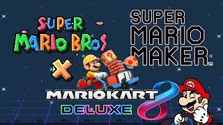 SALSA DE MARIO BRÓH: Super Mario Bros.X / Super Mario Maker / RONDAS Mario Kart 8 Deluxe ONLINE