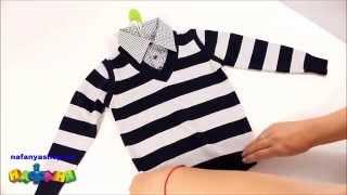 Обманка для мальчика цвет серый широкая полоска воротник клетка р 116 140 арт 9807Z