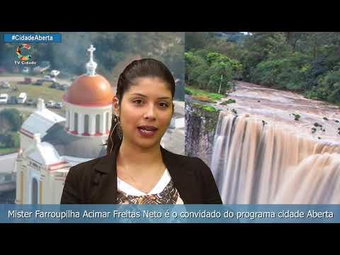 Mister Farroupilha Acimar Freitas Neto é o convidado do programa cidade Aberta