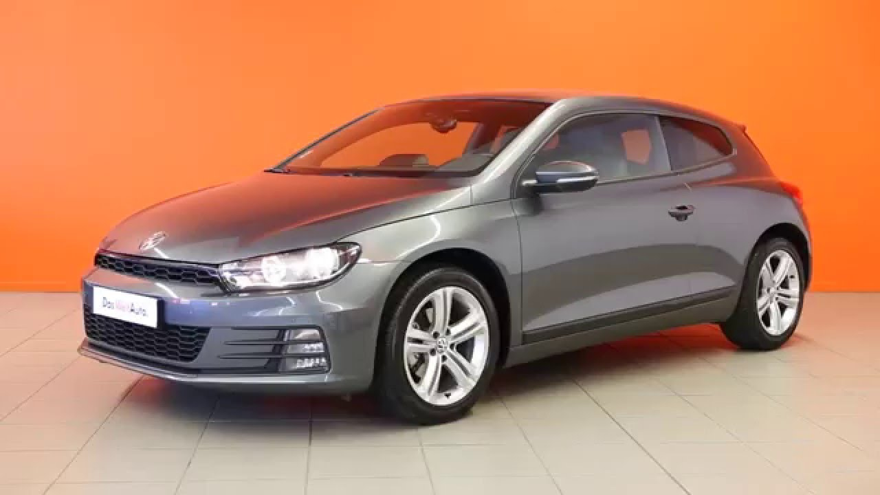 volkswagen scirocco occasion 2 0 tdi 150 sportline gris indium 2664 youtube. Black Bedroom Furniture Sets. Home Design Ideas