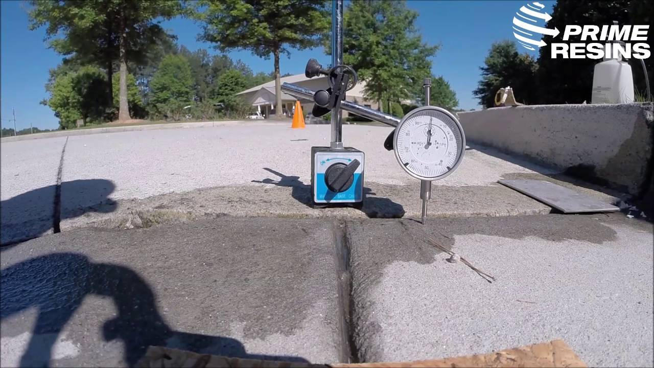 Concrete Slab Lifting : Lifting a concrete driveway slab youtube