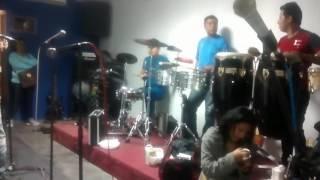 Ensayo y cortes de Orquesta Papillon_Drums Junior Palacios