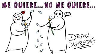 ¿ME QUIERE O NO ME QUIERE? 🌼 | Draw My Life