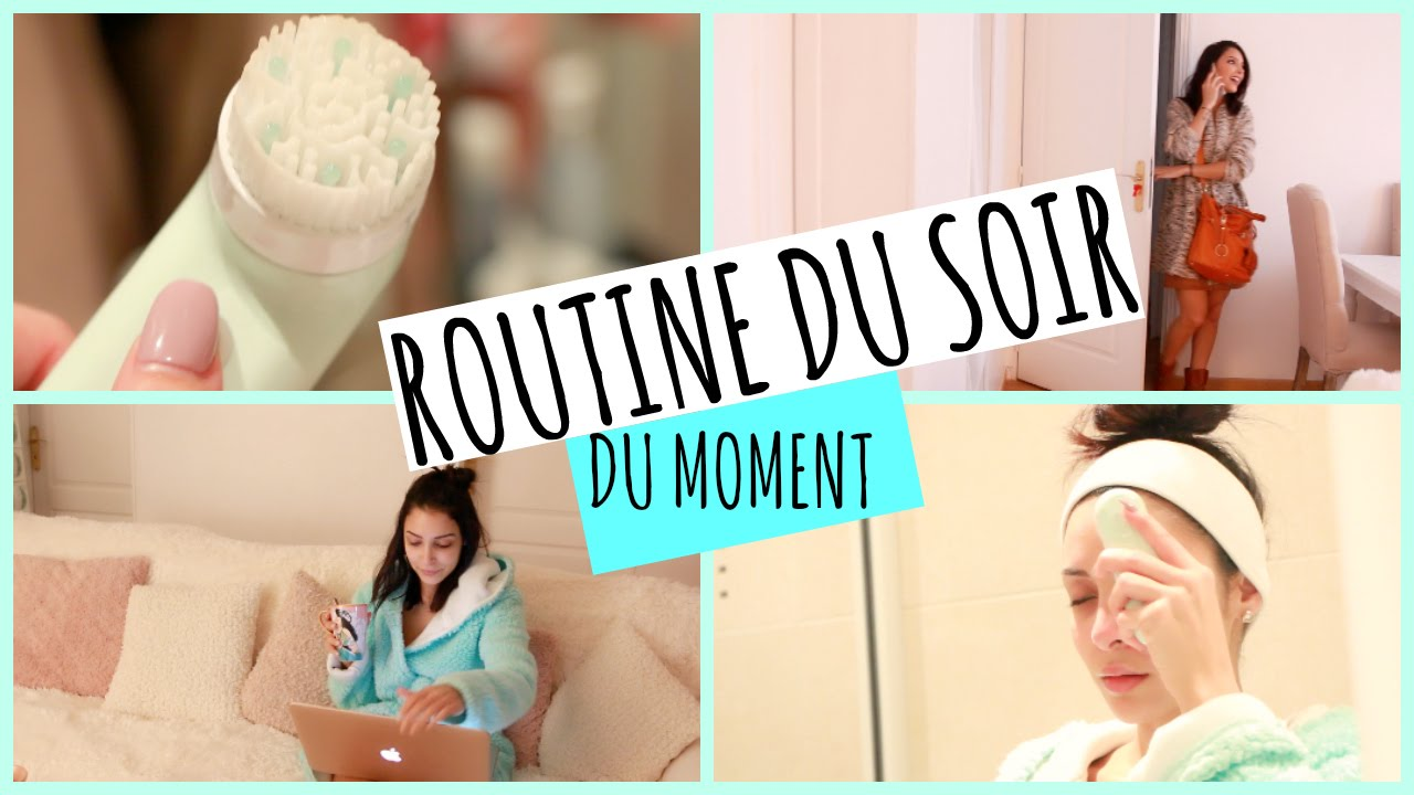 @Sananas:Get Unready With Me ! Routine soin du soir ♡