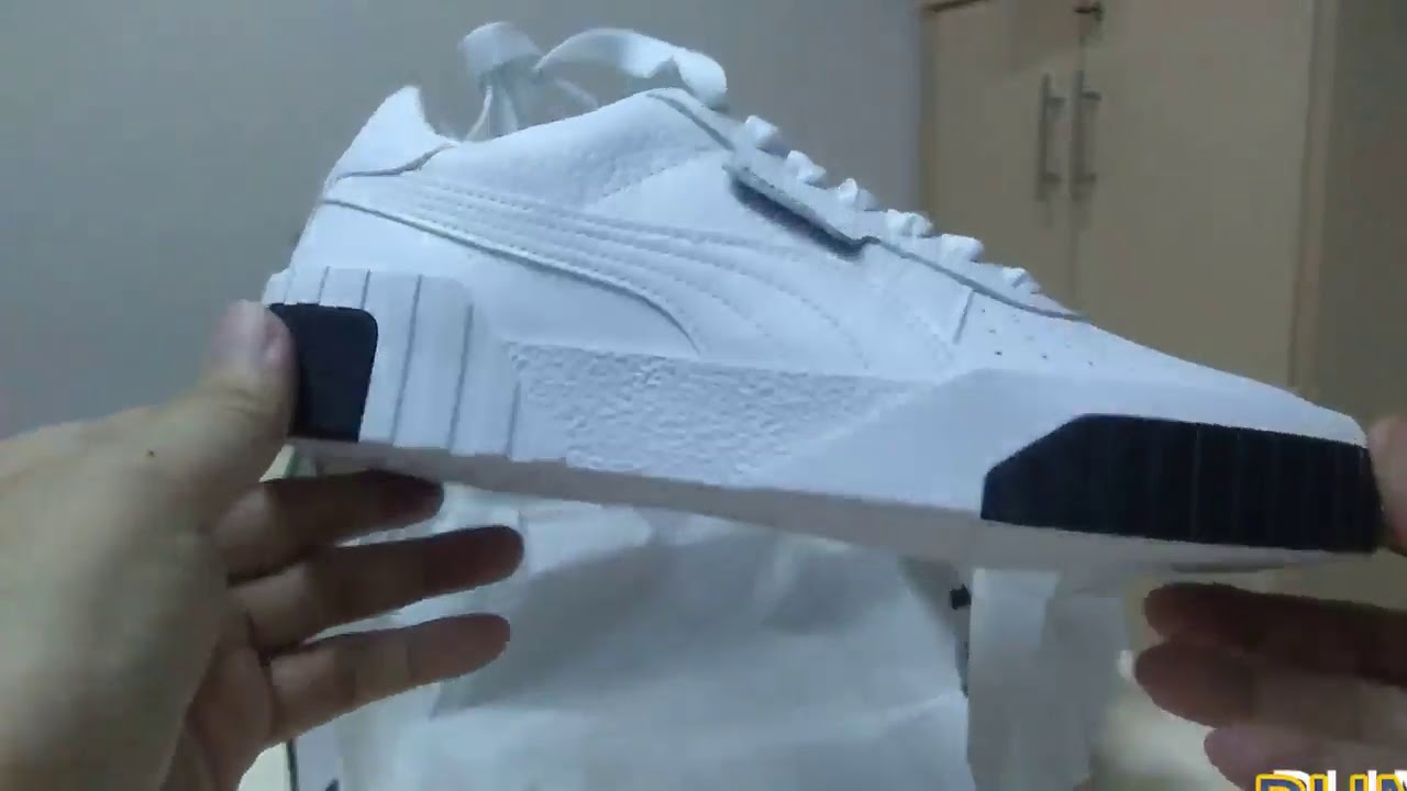 Unboxing sneakers PUMA Cali Wn`s