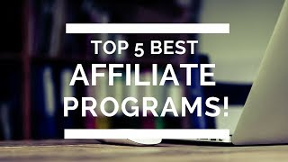 Best Affiliate Programs 2017 - 2018 to EARN on Autopilot (Monthly Basis) & Up to $4800 per sale!!!!