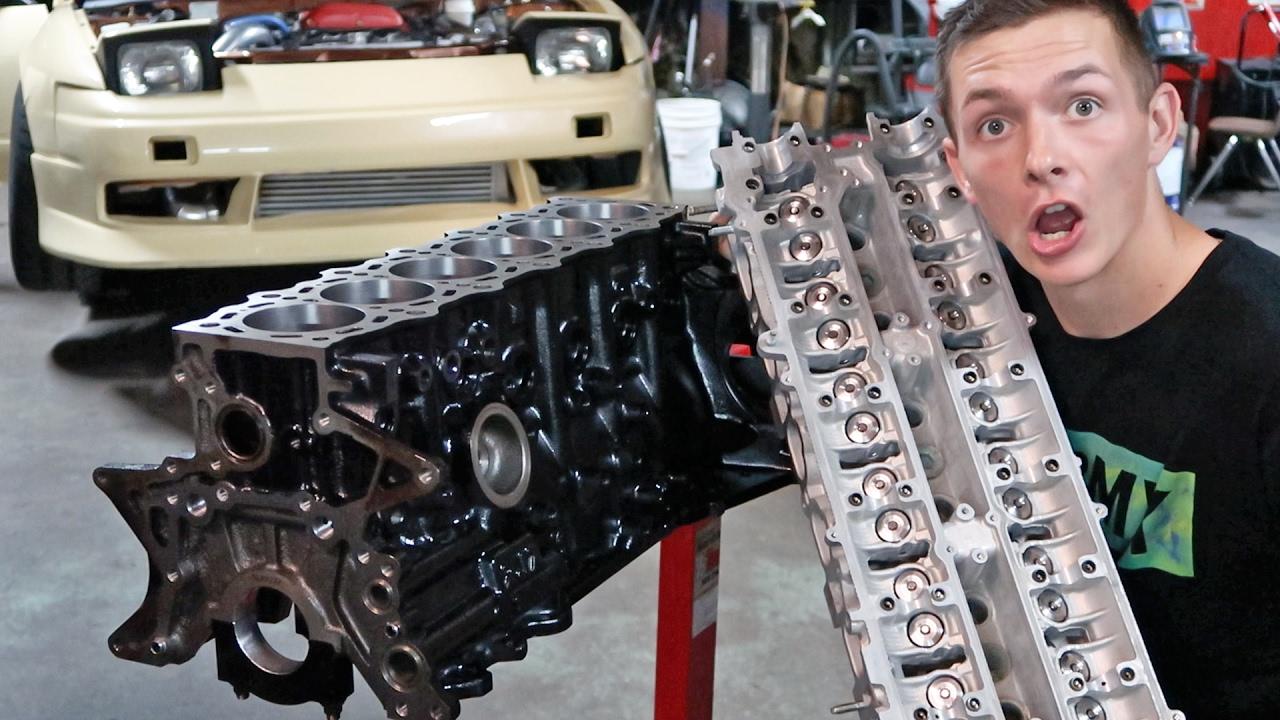 how to build a 2jz engine