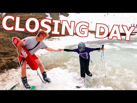 Arapahoe Basin Closing Day Snowboarding 2018
