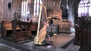"""Breathing with harp"" performed by Lauren Scott - harp"