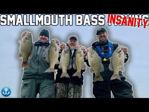 Most Underrated WINTER Fishing Technique (Smallmouth Bass)