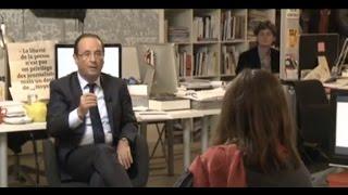 Mediapart 2012 : le grand entretien avec François Hollande
