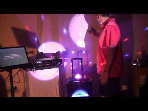 Battery Powered Pa System Professional Karaoke Player MP3G USB