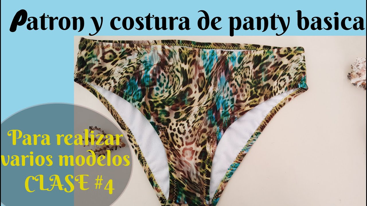 Confección de panty básica a medida + modificaciones . Clase# 4