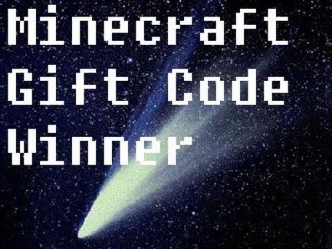 minecraft gift codes giveaway minecraft gift code giveaway winner youtube 1622