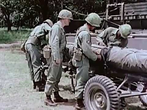 Weapons Of The US Army Field Artillery - circa 1960 - Charli