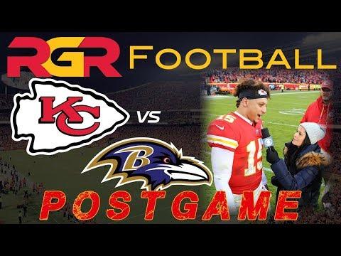 Chiefs vs Ravens PostGame LIVE - Patrick Mahomes Tyreek Hill Travis Kelce | Kansas City Chiefs 11-2