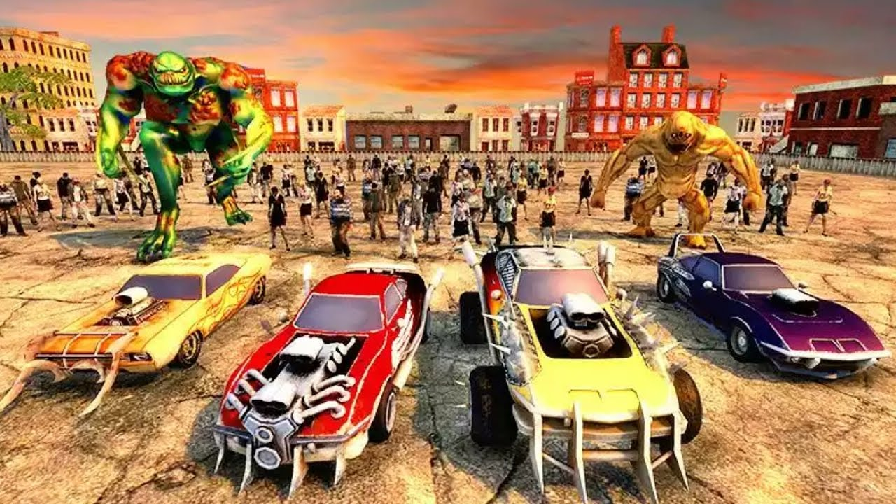 kill zombies with a car