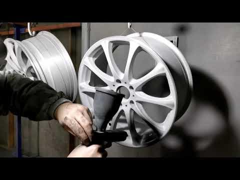 Порошковая покраска дисков RAYS.