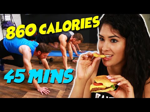 People Tried Burning Off Their Fast Food Calories
