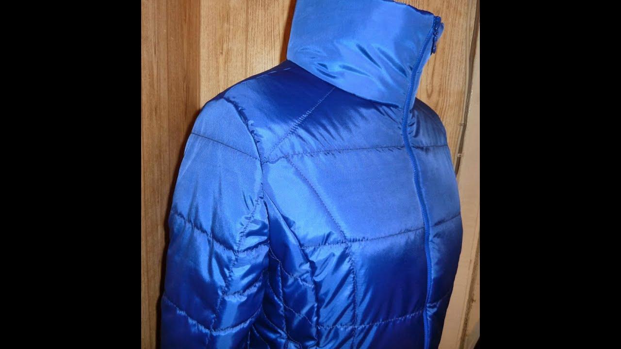 Женские стеганые пальто с мехом норки от Форте Примо - YouTube