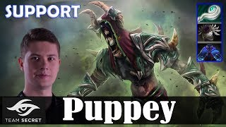 Puppey - Undying Roaming   SUPPORT 7.19 Update Patch   Dota 2 Pro MMR Gameplay