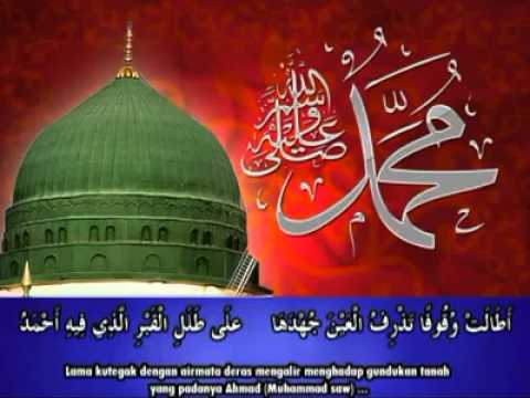 Qasidah menangisi wafatnya Rasulullah SAW
