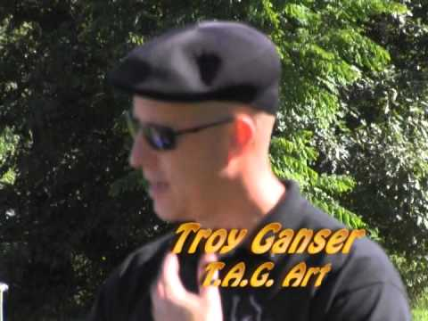 Patty's Page - Guest: Troy Ganser of T.A.G. Art