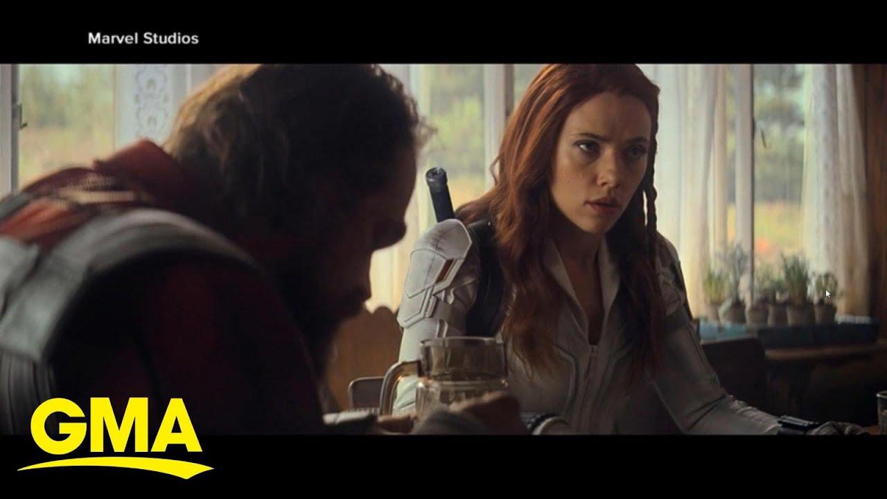 Scarlett Johansson sues Disney over 'Black Widow' release ...