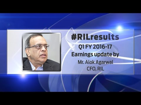 #RILresults Earnings Update Q1 FY2016-17