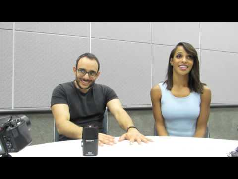 Wondercon 2016 chat with Damien's Omid Abtahi & Megalun Echikunwoke Are in the Human Realm  for now