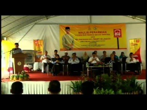 Rakaman Pelancaran Bas Smart Selangor dan perasmian Stesen Bas Sentral Sg Besar