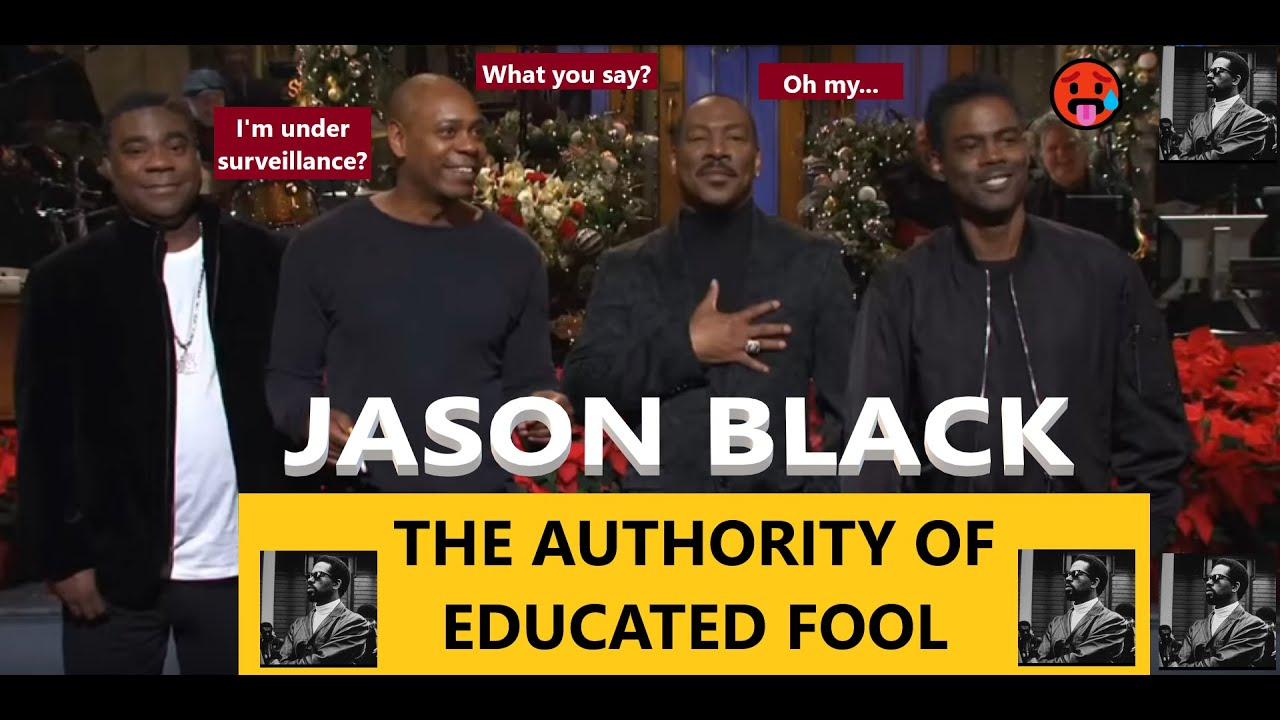 Jason Black The Black Authority Channel Reaction Video Educated Fools Do Exist It S Real Tba Youtube We are here to share with our brothers and sisters our facebook is showing information to help you better understand the purpose of a page. jason black the black authority channel